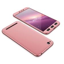 GKK 360 Protection telefontok hátlap tok Első és hátsó tok telefontok hátlap az egész testet fedő Xiaomi redmi 5A rózsaszín tok és táska