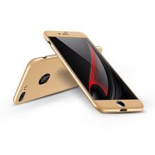 GKK Apple iPhone 7 hátlap - GKK 360 Full Protection 3in1 - Logo - arany tok és táska