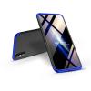 GKK Apple iPhone XS Max hátlap - GKK 360 Full Protection 3in1 - fekete/kék