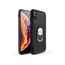 GKK Apple iPhone XS Max hátlap - GKK Armor Full Protection - fekete mobiltelefon kellék