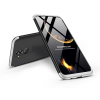 GKK Huawei Mate 20 Lite hátlap - GKK 360 Full Protection 3in1 - fekete/ezüst