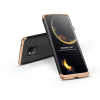 GKK Huawei Mate 20 Pro hátlap - GKK 360 Full Protection 3in1 - fekete/arany