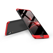 GKK Huawei P20 hátlap - GKK 360 Full Protection 3in1 - fekete/piros tok és táska