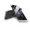 GKK Huawei P20 Lite hátlap - GKK 360 Full Protection 3in1 - fekete/ezüst