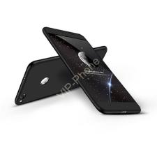 GKK Huawei P9 Lite (2017) hátlap - GKK 360 Full Protection 3in1 - fekete tok és táska