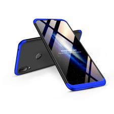 GKK Huawei Y7 (2019)/Y7 Prime (2019) hátlap - GKK 360 Full Protection 3in1 - fekete/kék tok és táska