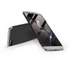 GKK Huawei Y7 Pro (2018) hátlap - GKK 360 Full Protection 3in1 - fekete/ezüst