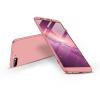 GKK Huawei Y7 Pro (2018) hátlap - GKK 360 Full Protection 3in1 - rose gold