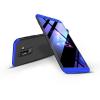 GKK Samsung A605 Galaxy A6 Plus (2018) hátlap - GKK 360 Full Protection 3in1 - fekete/kék