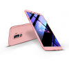 GKK Samsung A605 Galaxy A6 Plus (2018) hátlap - GKK 360 Full Protection 3in1 - rose gold