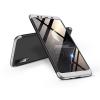 GKK Samsung A750F Galaxy A7 (2018) hátlap - GKK 360 Full Protection 3in1 - fekete/ezüst