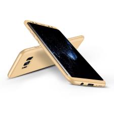 GKK Samsung G955F Galaxy S8 Plus hátlap - GKK 360 Full Protection 3in1 - arany tok és táska