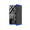 GKK Samsung G988F Galaxy S20 Ultra hátlap - GKK 360 Full Protection 3in1 - fekete/kék