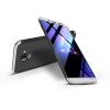 GKK Samsung J600F Galaxy J6 (2018) hátlap - GKK 360 Full Protection 3in1 - fekete/ezüst