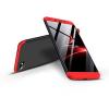 GKK Xiaomi Redmi 6A hátlap - GKK 360 Full Protection 3in1 - fekete/piros