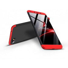 GKK Xiaomi Redmi 6A hátlap - GKK 360 Full Protection 3in1 - fekete/piros tok és táska