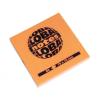 Global Not Öntapadós jegyzettömb 76 x76 mm 80 lapos neon narancs