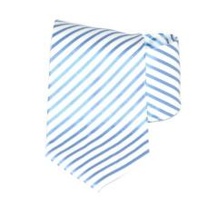 Goldenland nyakkendõ - Kék-fehér csíkos