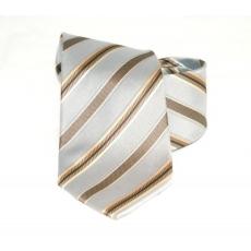 Goldenland nyakkendõ - Szürke-arany csíkos