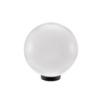 Gömb alakú kerti lámpa opál (200 mm) E27