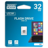 "Goodram Pendrive, 32GB, USB 2.0, 20/5Mb/sec, mini, GOODRAM ""UPI2"", fehér"