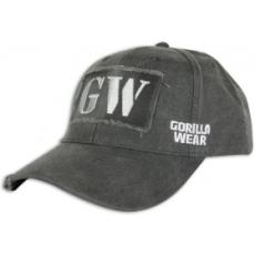 Gorilla Wear GW Washed Cap baseball sapka (antracit) (1 db)