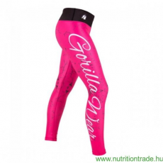 Gorilla Wear HOUSTON TIGHTS pink/fekete M leggings Gorilla Wear