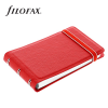 Goss Filofax Notebook Classic Smart, Piros