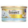 Gourmet Gold teljes értékű állateledel felnőtt macskáknak, tonhalas pástétom 85 g