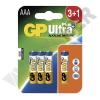 GP BATTERIES LR03 GP24AUP-C3+1 UltraPlus alkáli mikró elem bliszteres
