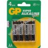 GP elem Super alkáli AA (ceruza elem) 4db/csom.