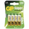 GP Super elem R6 (ceruza, AA) 4db/bliszter