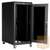 """Great Lakes GL24E-60100G-BL 24U 600 x 1000 19""""-os álló rack szekrény"""