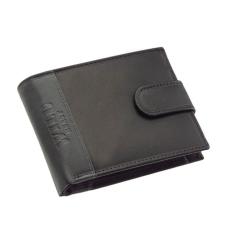 GREEN DEED Wild Best nyomott logós, fekete-szürke, patentos nyelvű pénztárca SWC102/T