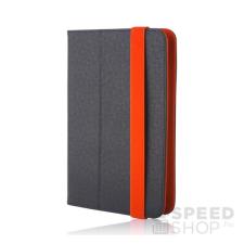 GreenGo univerzális tablet tok 7-8 colos, fekete-narancs tablet tok