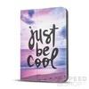 GreenGo univerzális tablet tok 9-10 colos, Be cool mintás