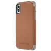 GRIFFIN Survivor Prime Leather for iPhone X barna