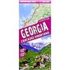 Grúzia laminált térkép - Terra Quest