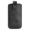 GSMOK Deko Samsung Galaxy S4 mini/ iPhone 4/4S Full style kihúzató tok, fekete