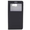 GSMOK Flip Case Smart Window oldalra nyíló Samsung Galaxy A5 (2016) tok, fekete