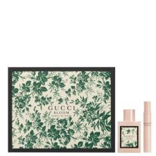 Gucci Bloom Acqua di Fiori női parfüm szett (eau de toilette) Edt 50ml+Edt 7,4 roll kozmetikai ajándékcsomag