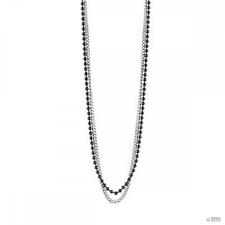 Guess férfi Lánc nyaklánc ékszer nemesacél ezüst Fekete UMN21510 nyaklánc