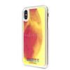 Guess iPhone X/XS sötétben világító rózsaszín homok tok (GUHCPXGLCPI)