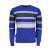 GUESS JEANS Férfi kék csíkos pulóver WH2-M74R55Z1PZ0_G716
