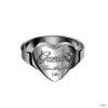 Guess Unisex férfi női gyűrű USR11001 56 (17.8 mm Ă?)