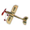 Guillow Jetstream 336mm Gumimotoros repülőmodell, alvázzal