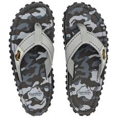 Gumbies Flip-flop Gumbies Islander Grey Camouflage Szín: szürke / Cipőméret (EU): 45