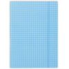 GUMIS mappa, karton, A4, kockás, DONAU, kék