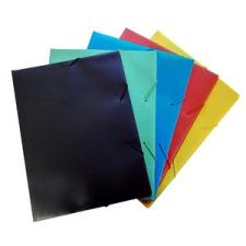 Gumis mappa TREND A/4 PVC kék 10db/csom mappa