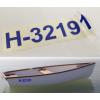 Gungldekor Hajó rendszám lajstromszám vízálló műanyag öntapadós fóliavágással applikáló fóliával ellátva